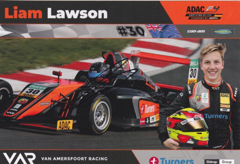 Liam Lawson VAR 2018 Card