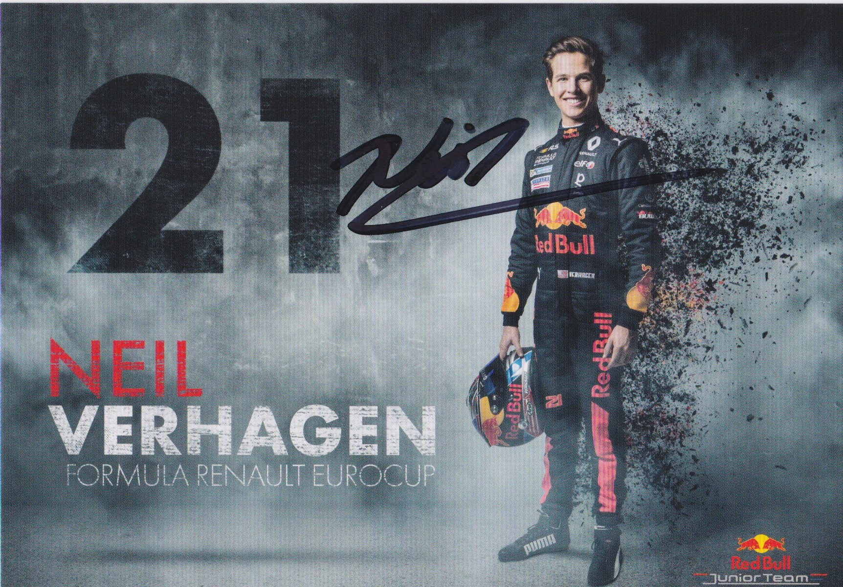 Neil Verhagen Red Bull Junior Team 2018