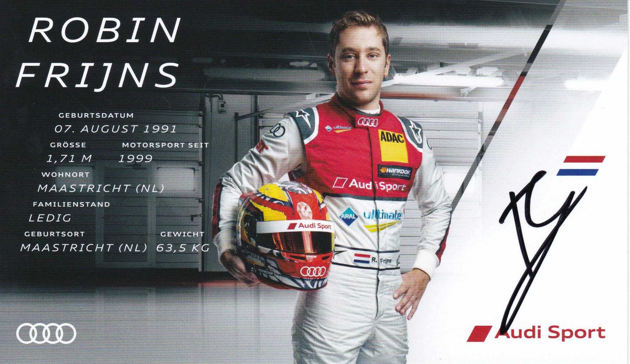 Robin Frijns DTM 2018