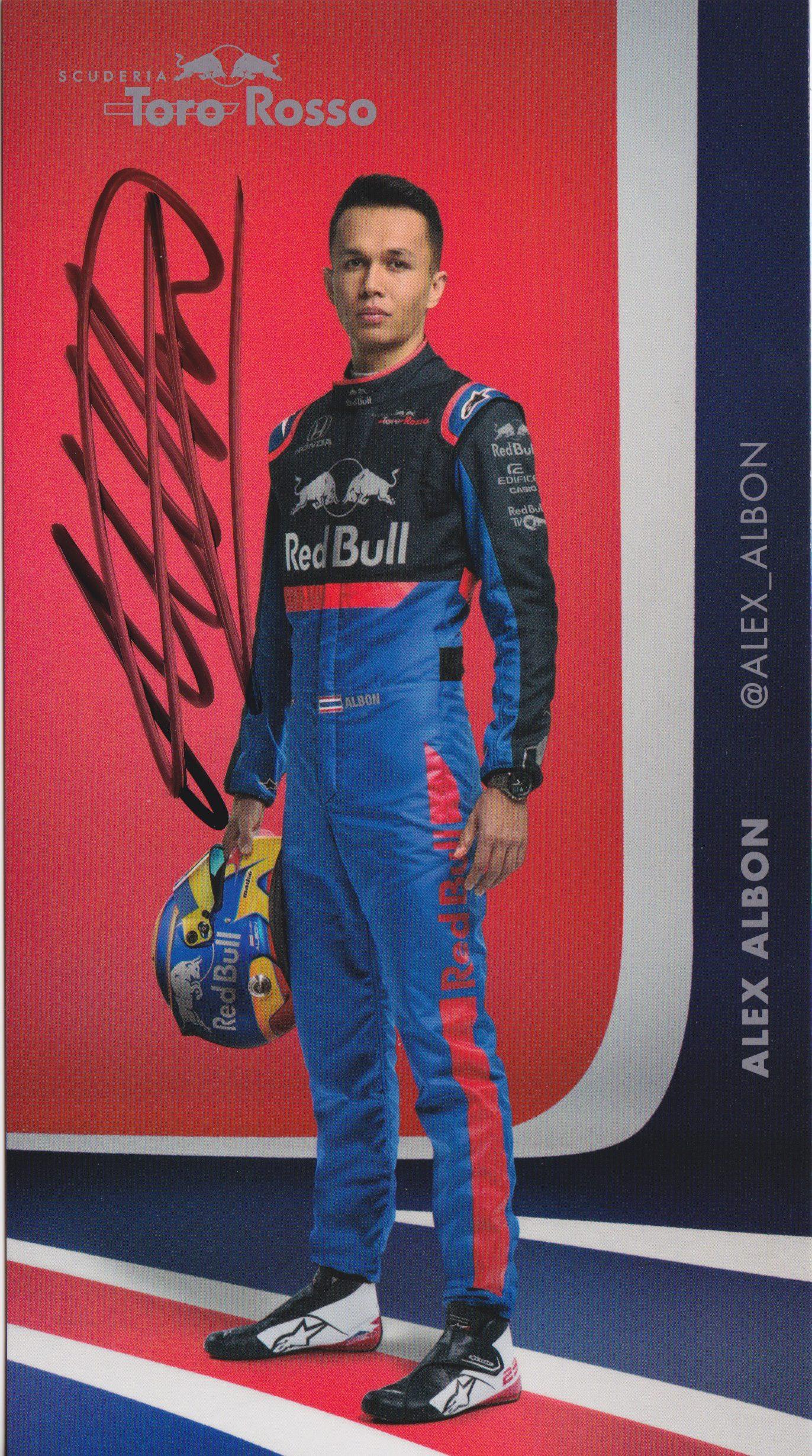 Albon Toro Rosso 2019