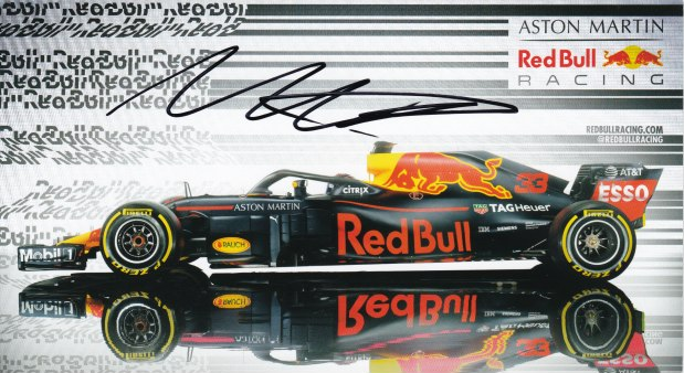 Max Verstappen Scuderia Red Bull Racing 2018