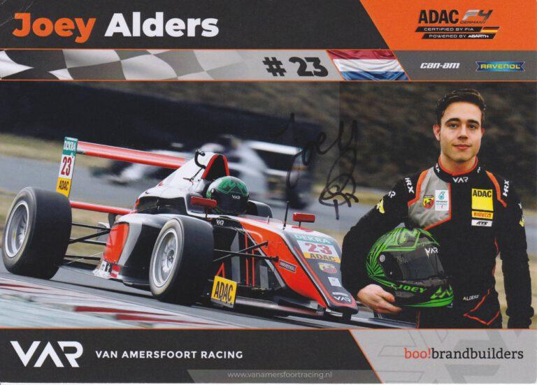 Joey Alders VAR Card