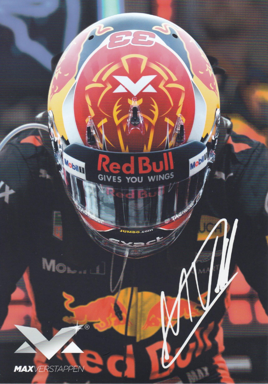 Max Verstappen Shop Kaart 2017