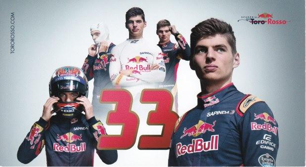 Max Verstappen Scuderia Toro Rosso 2016
