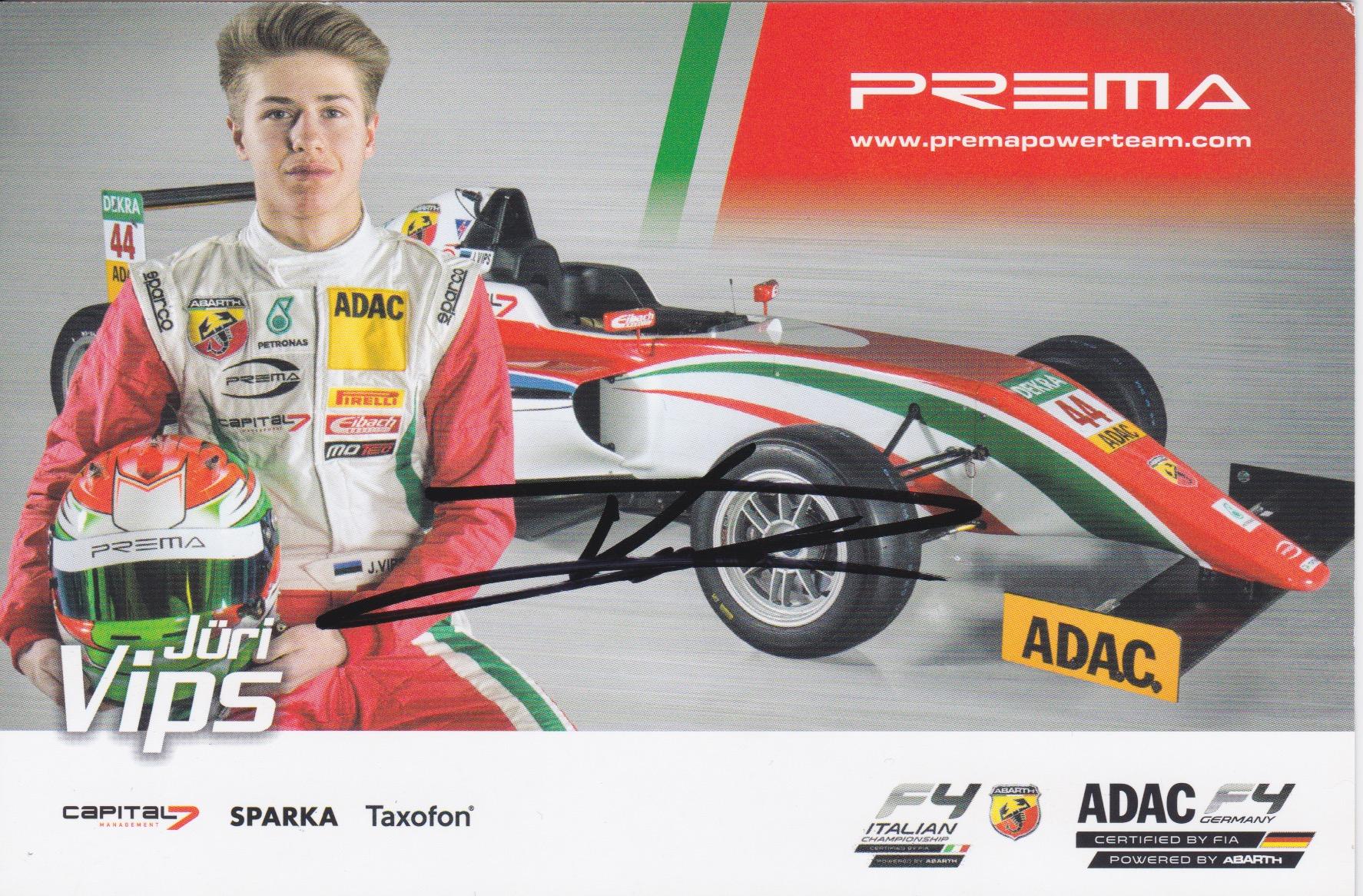 Jüri Vips Prema Powerteam 2016