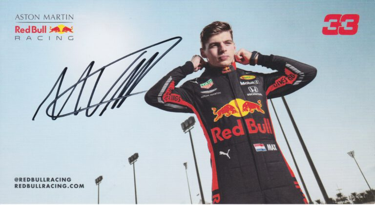 Max Verstappen Scuderia Red Bull Racing 2019