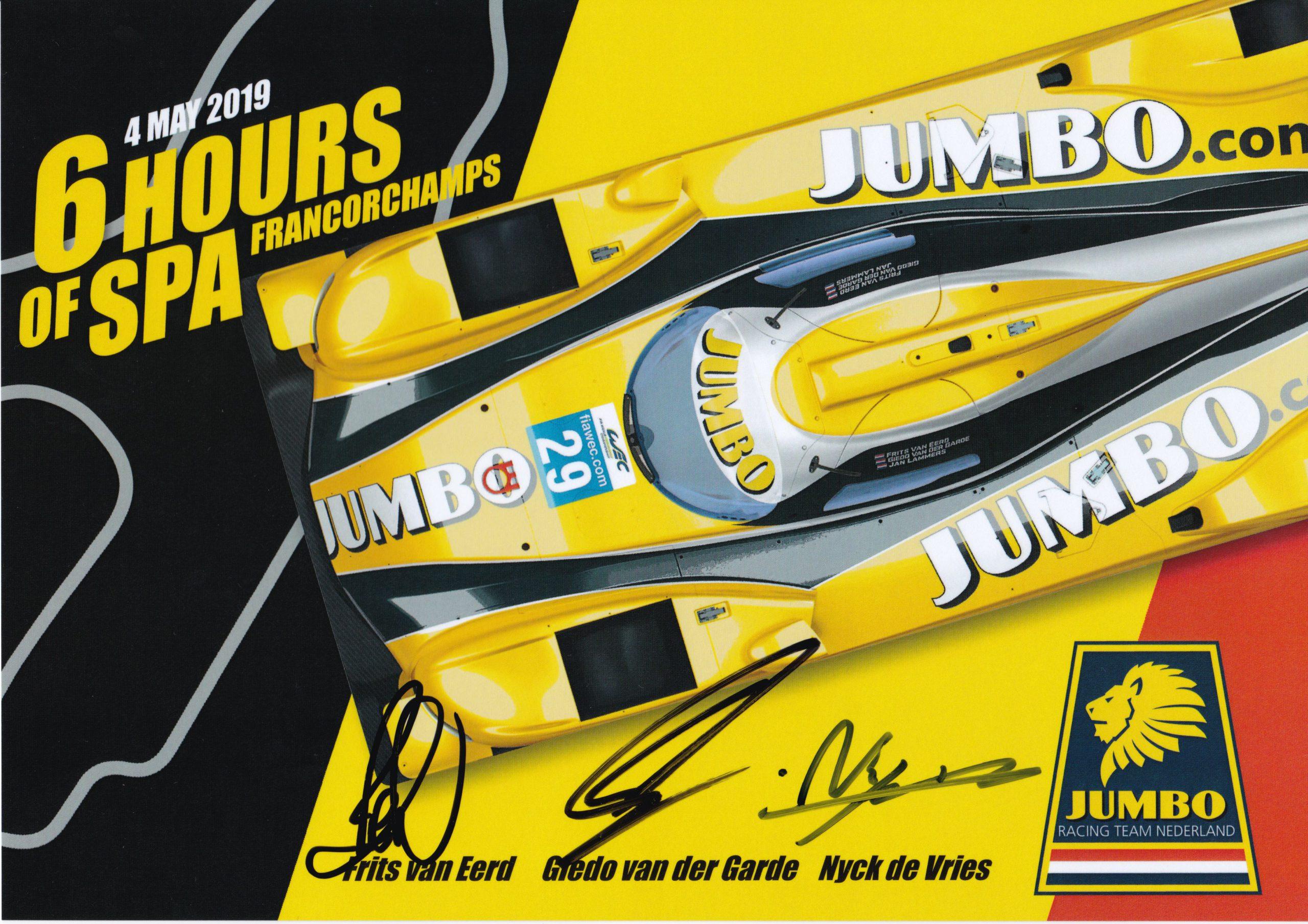 Racing Team Nederland Spa Kaart