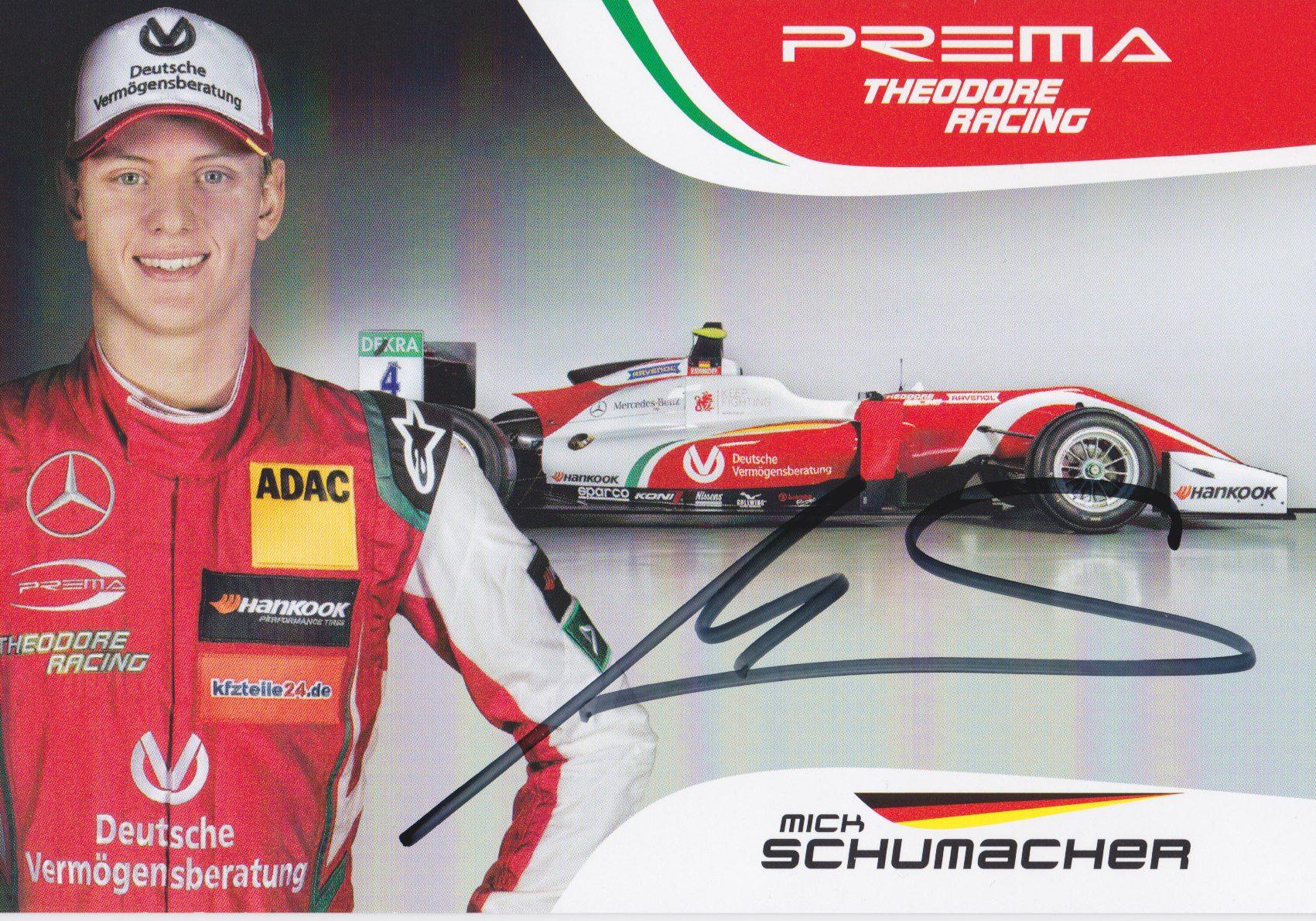 Mick Schumacher Prema 2018