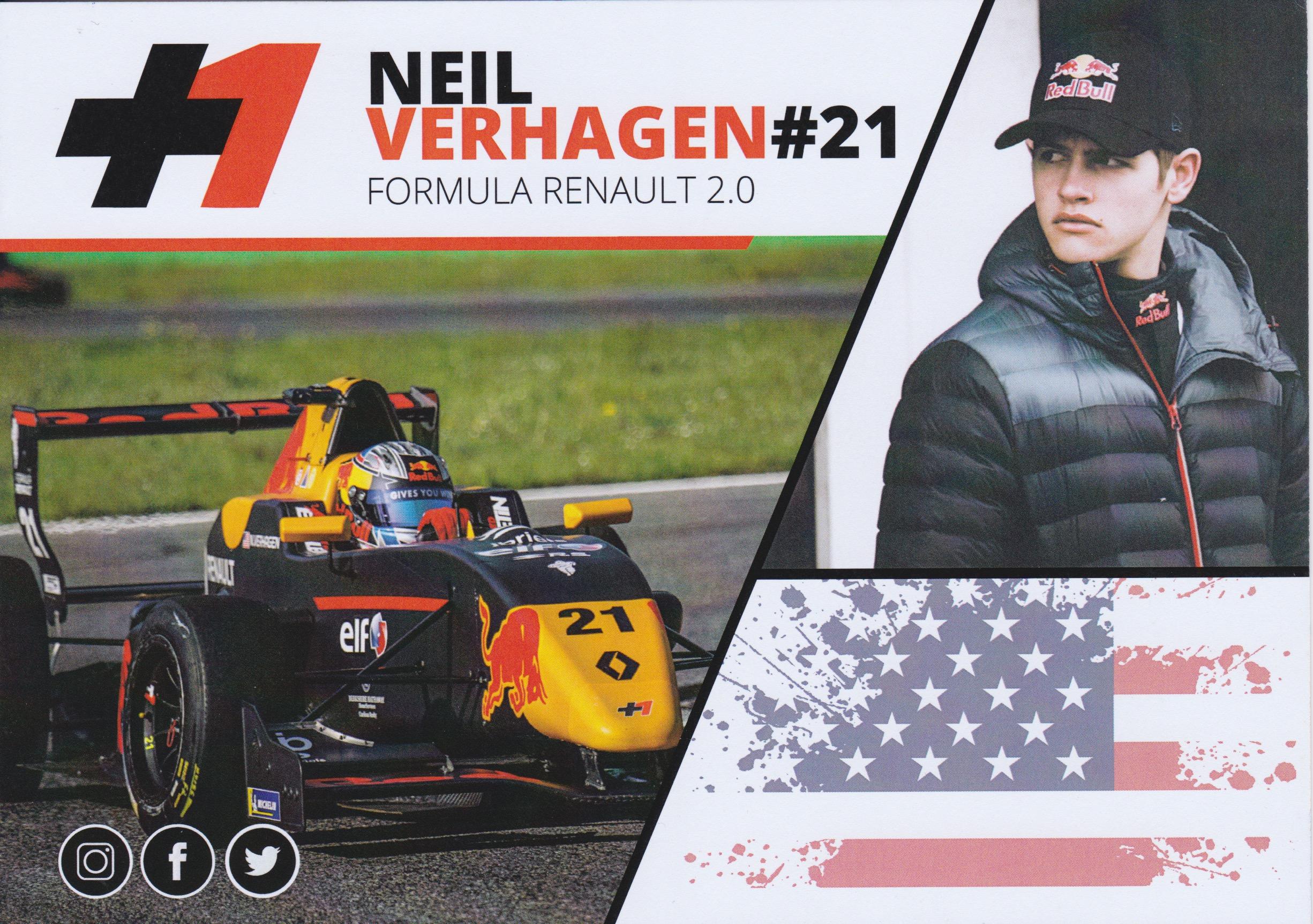 Neil Verhagen FR 2018 Kaart