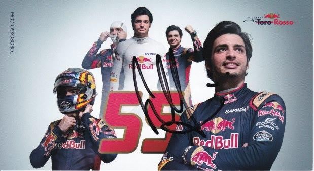 Carlos Sainz Toro Rosso 2016