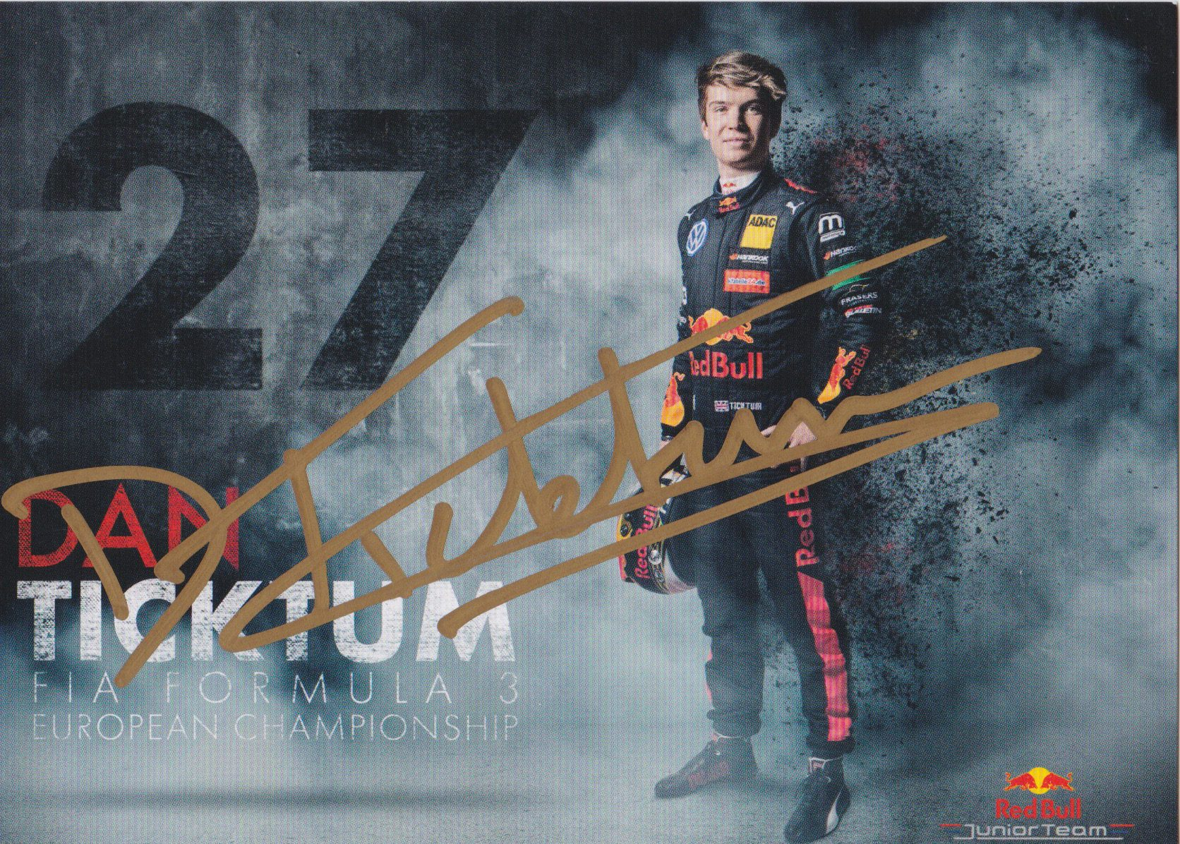 Daniel Ticktum Red Bull Junior Team 2018
