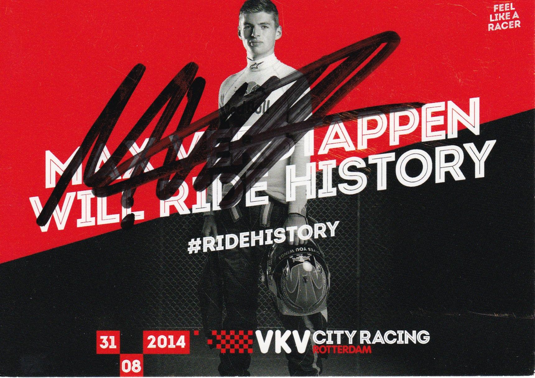 Max Verstappen VKV