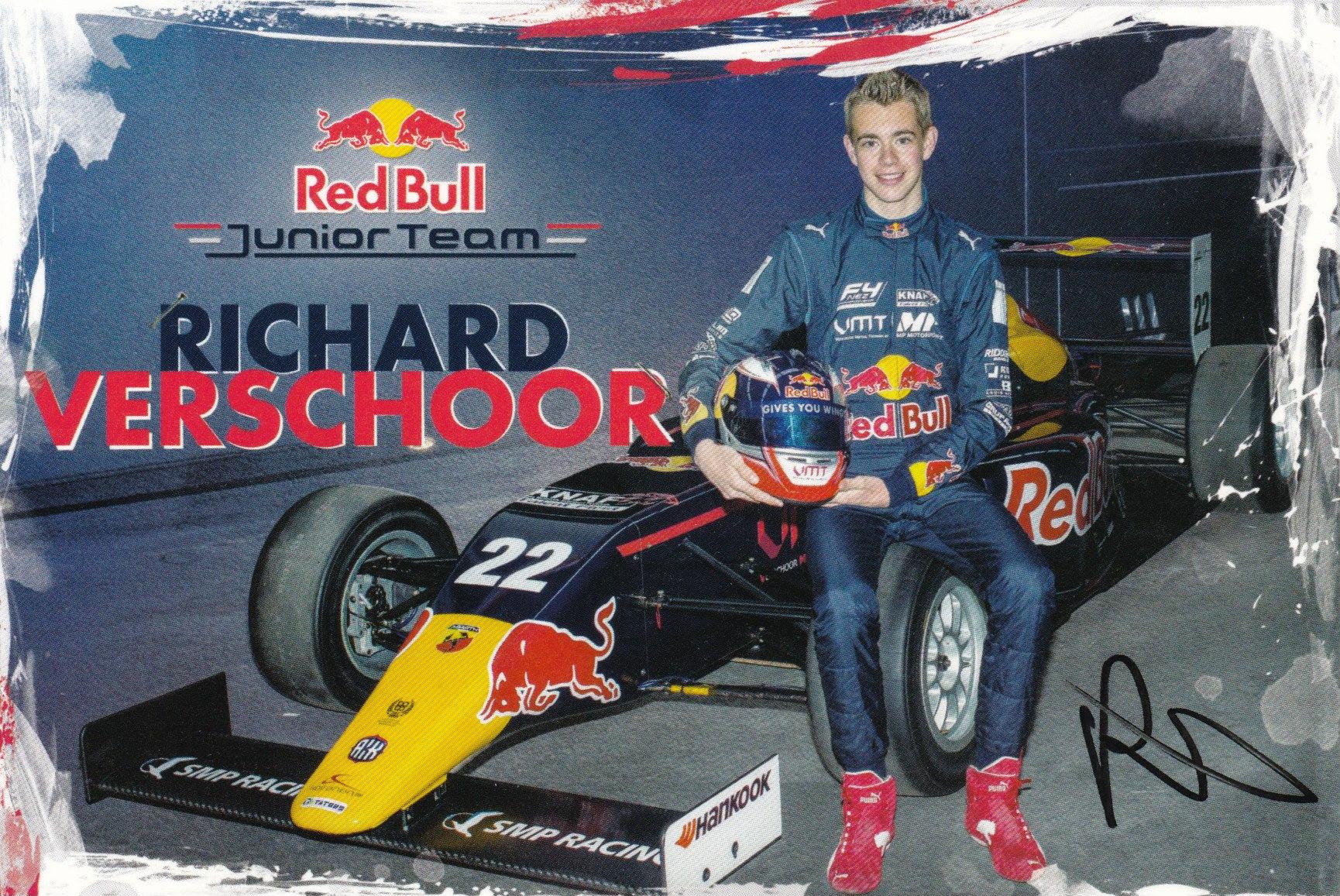 Richard Veschoor Red Bull Junior Team 2016