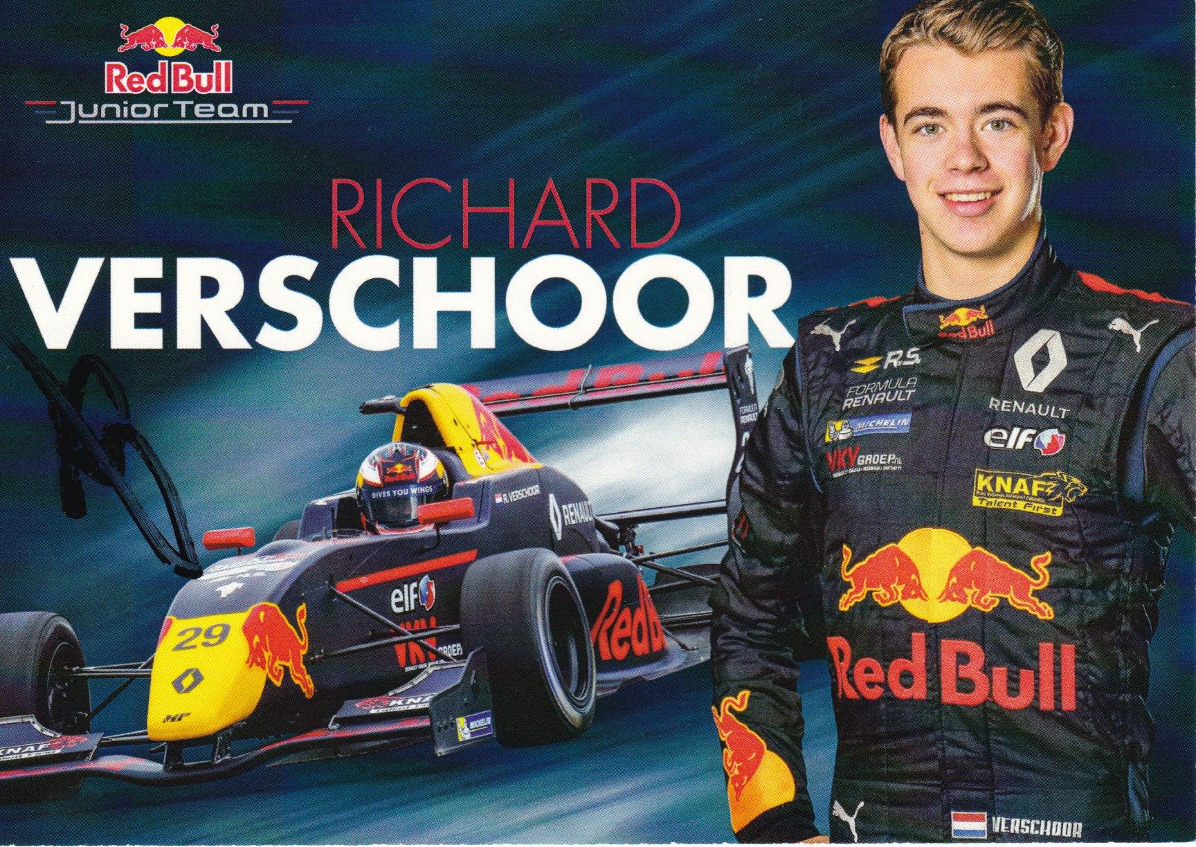 Richard Veschoor Red Bull Junior Team 2017