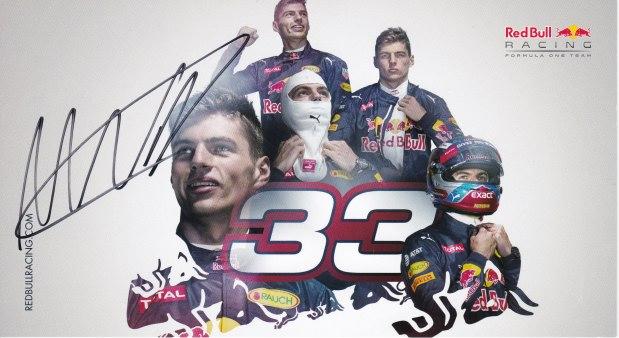 Max Verstappen Scuderia Red Bull Racing 2016
