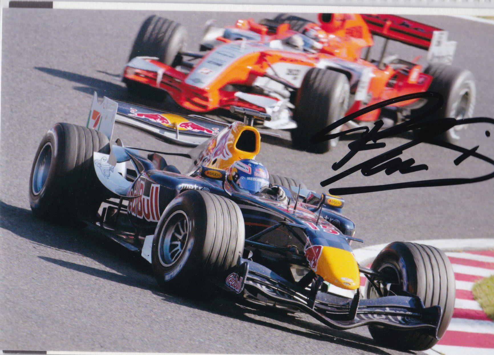 Robert Doornbos Red Bull Racing Foto