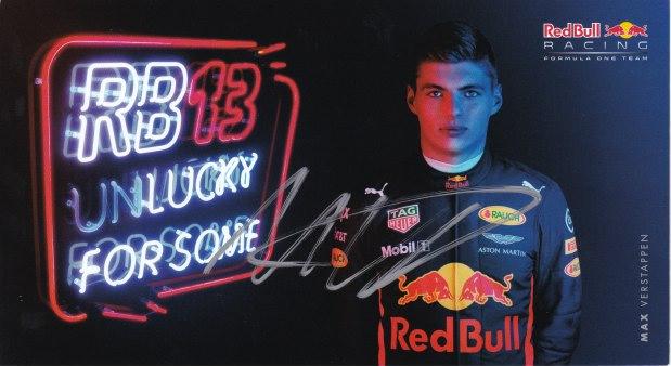 Max Verstappen Scuderia Red Bull Racing 2017