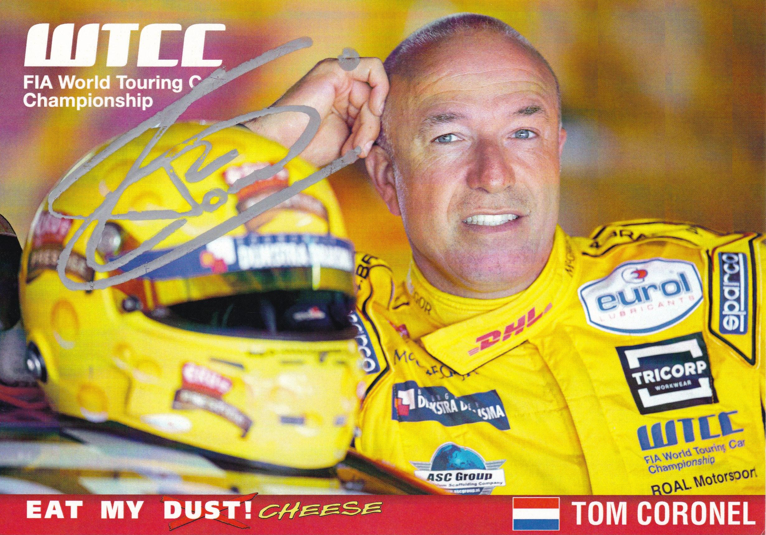Tom Coronel WTCC 2017 Kaart