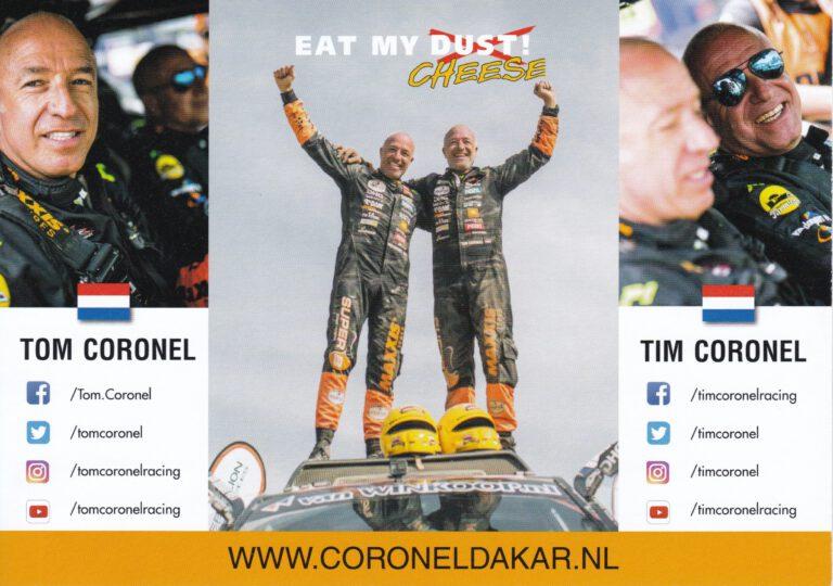 Coronel Dakar Card
