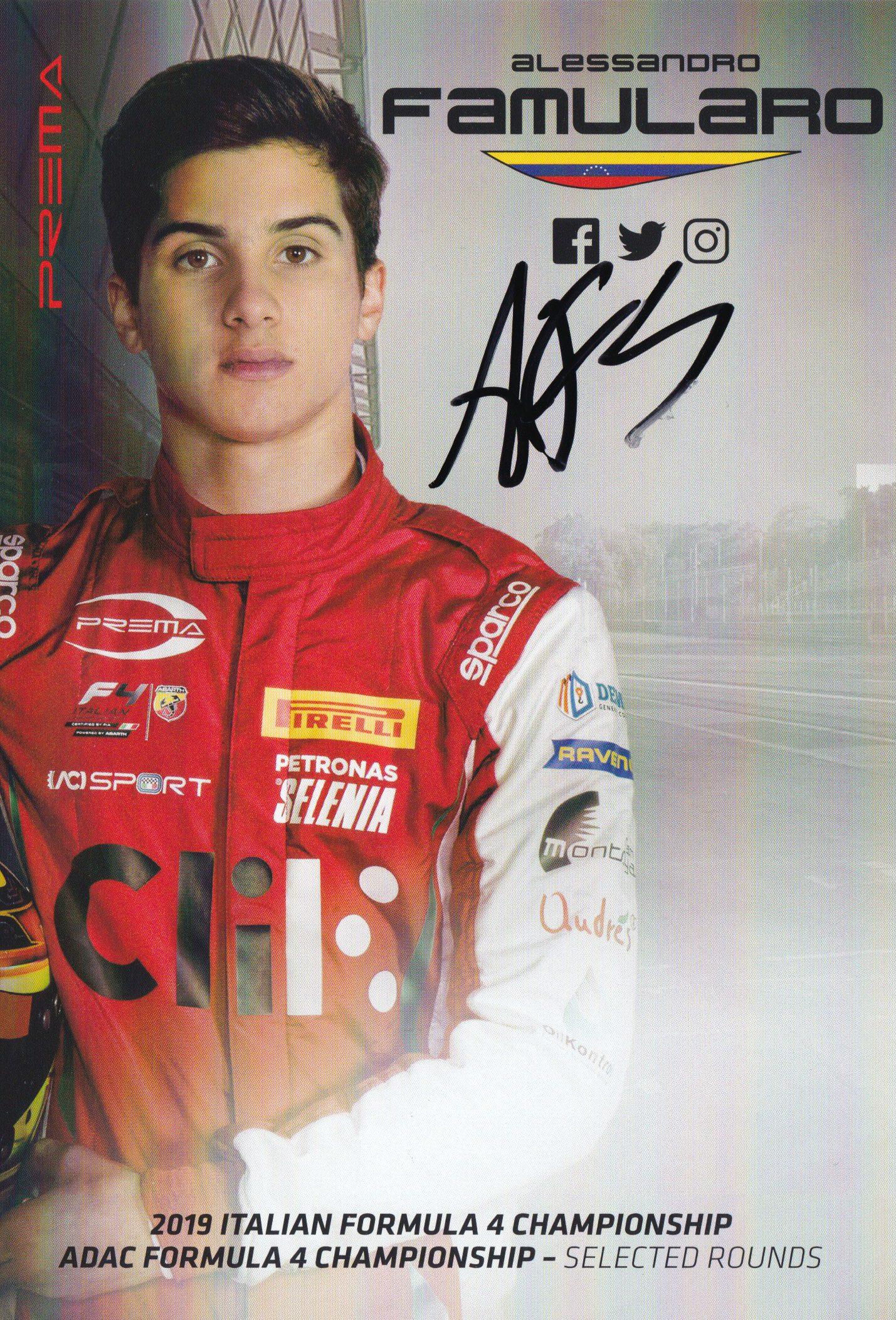 Alessandro Famularo Prema Powerteam 2019