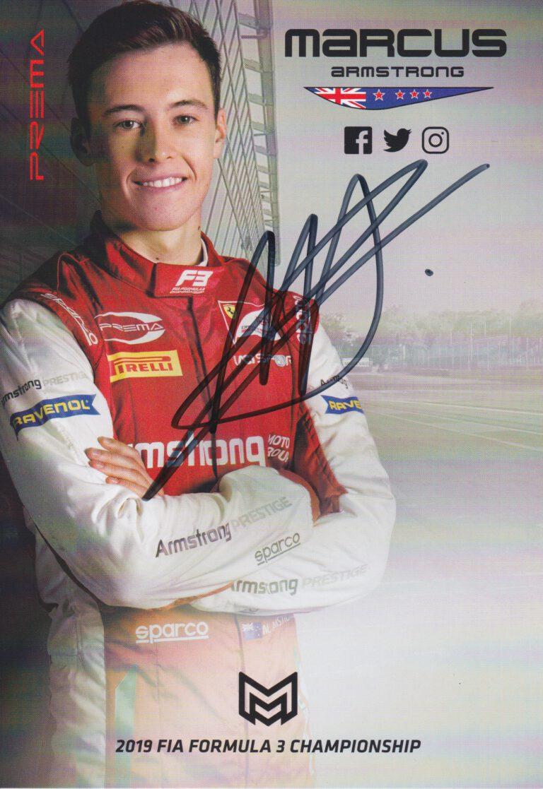 Marcus Armstrong Prema Powerteam 2019