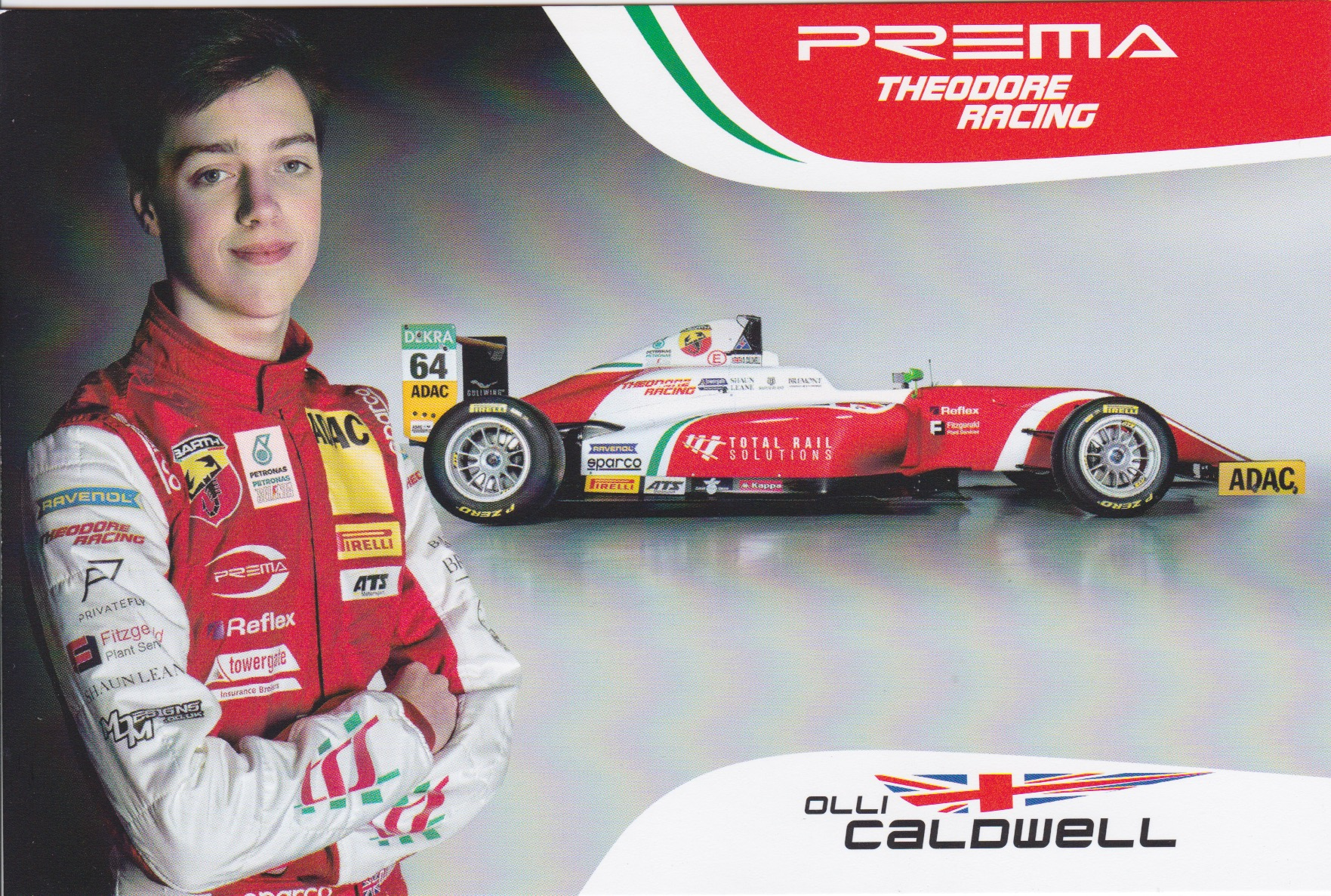 Olli Caldwell Prema Powerteam 2018