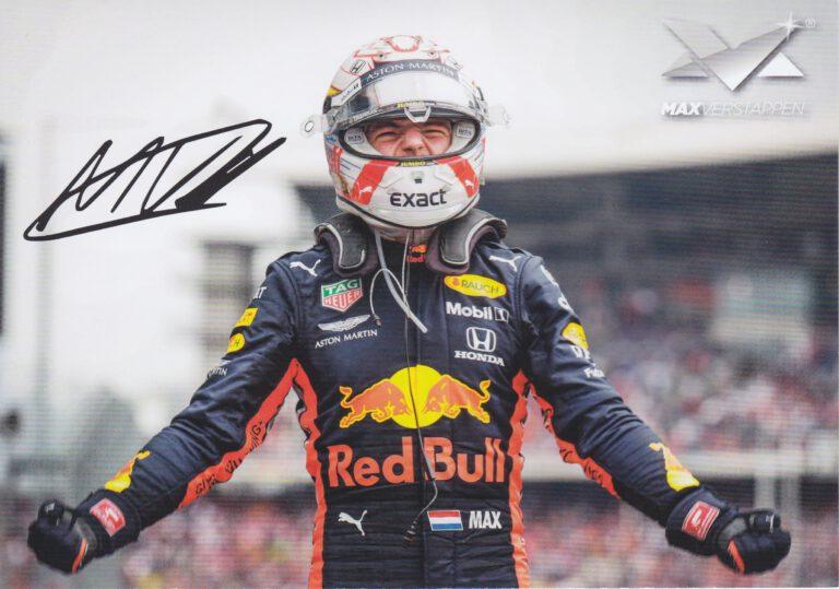 Max Verstappen Shop Kaart 2019
