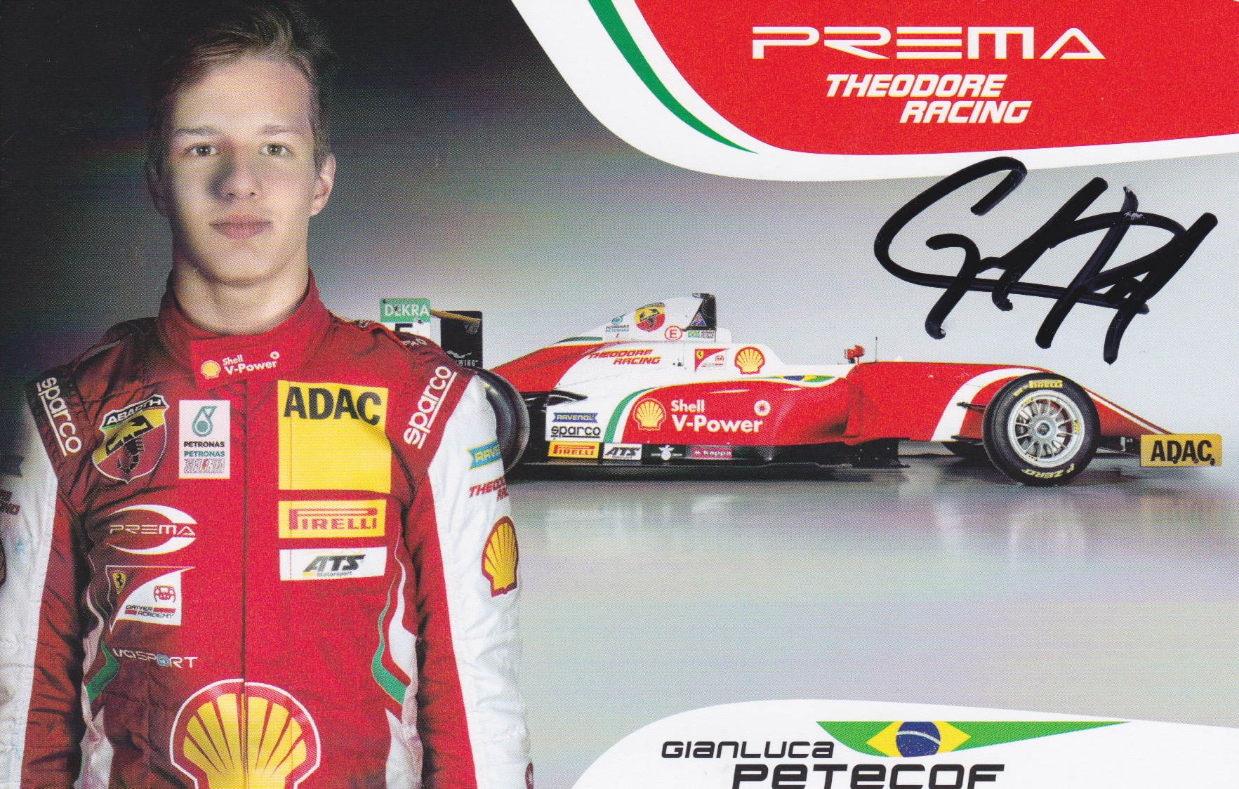 Gianluca Petecof Prema Powerteam 2018