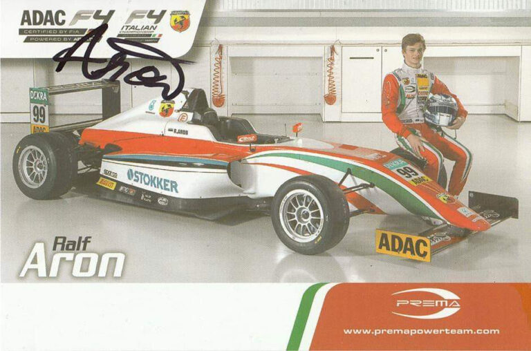 Wanted: Ralf Aron 2015 Prema Powerteam