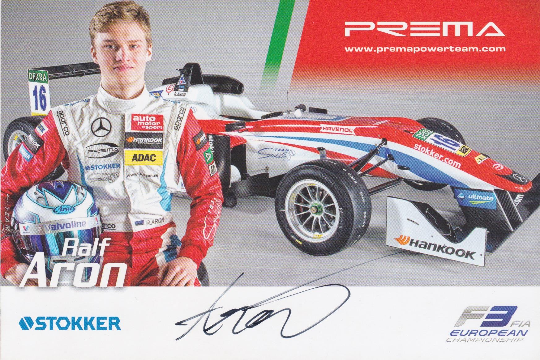Ralf Aron Prema 2016