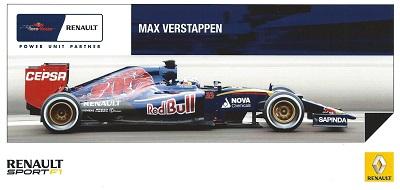 Wanted: Max Verstappen Renault Sport 2015