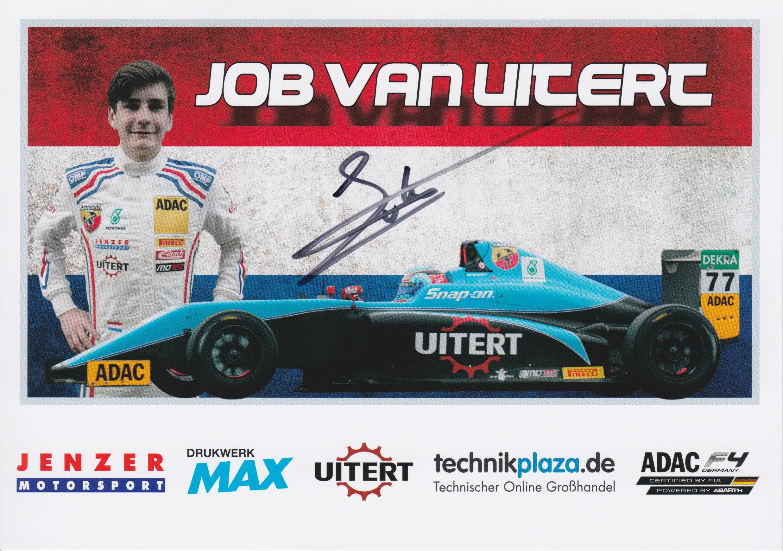 Job van Uitert Jenzer Motorsport ADAC F4
