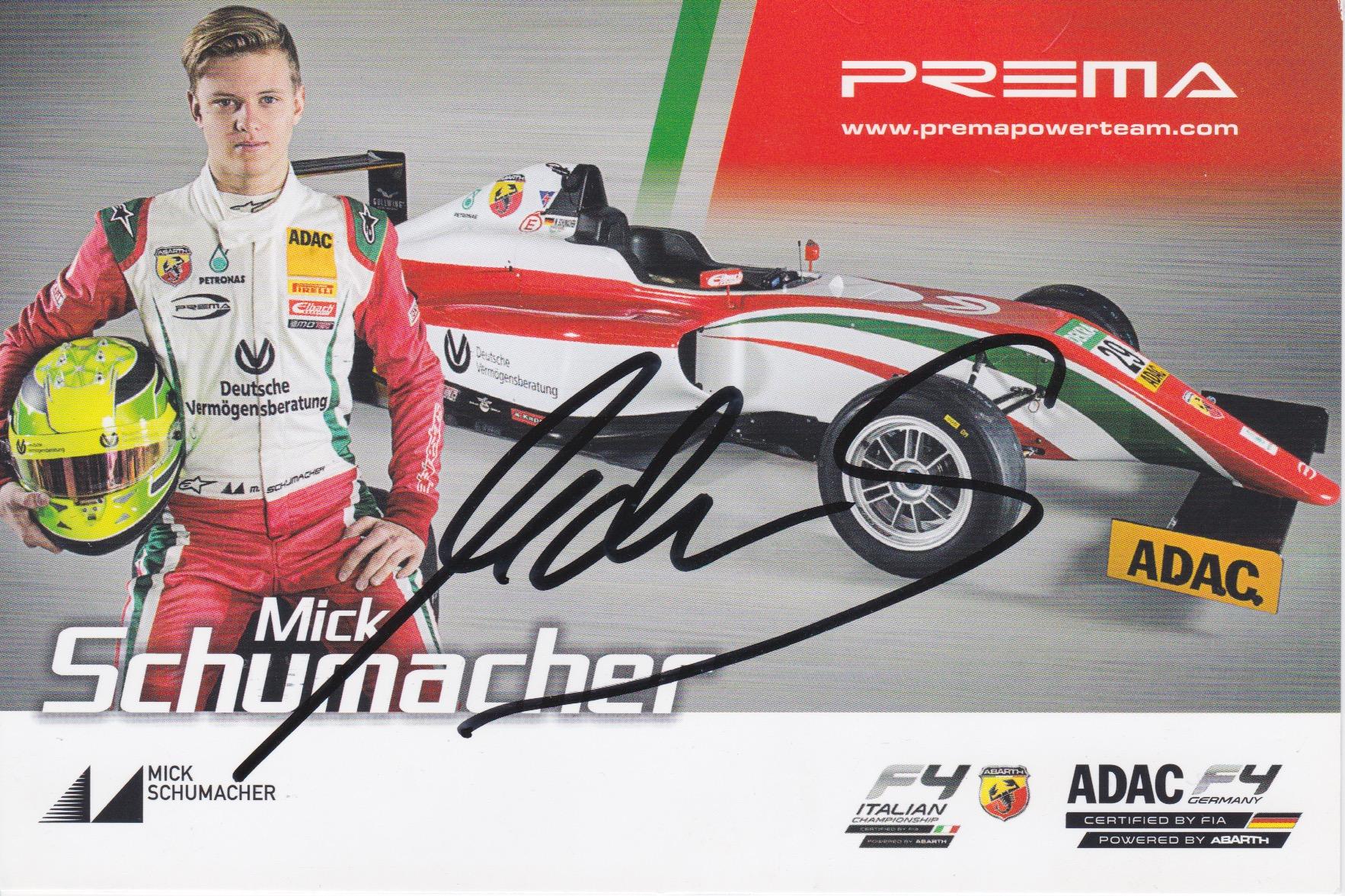Mick Schumacher Prema 2016