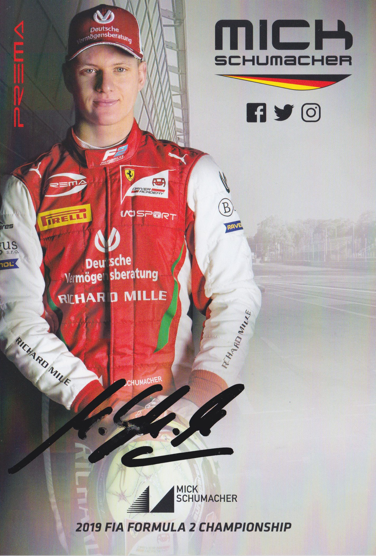 Mick Schumacher Prema Powerteam 2019