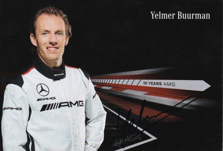 Yelmer Buurman 2017 Mercedes AMG