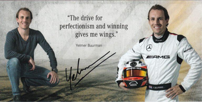 Yelmer Buurman 2016 Mercedes AMG