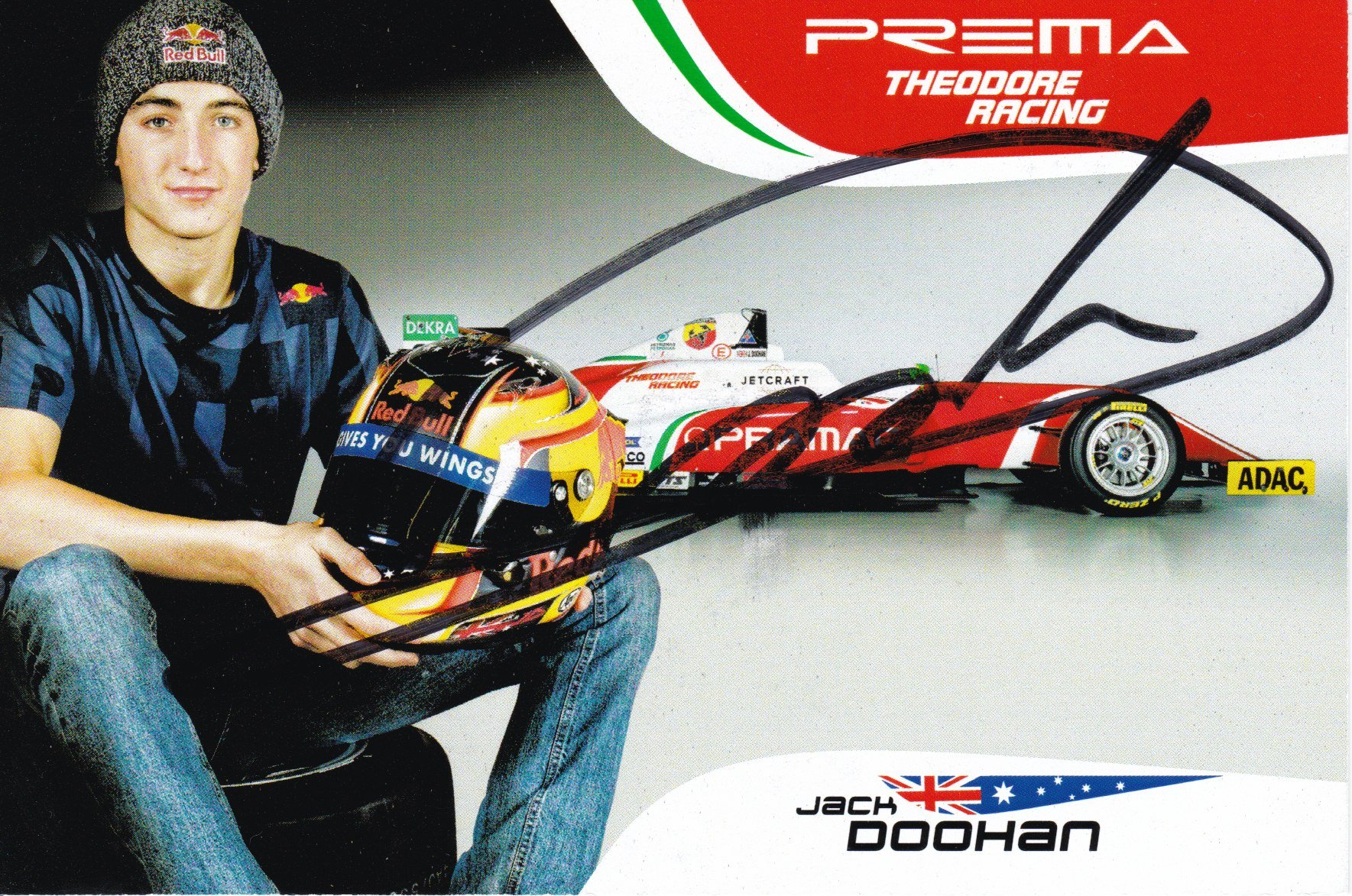 Jack Doohan Prema Powerteam 2018