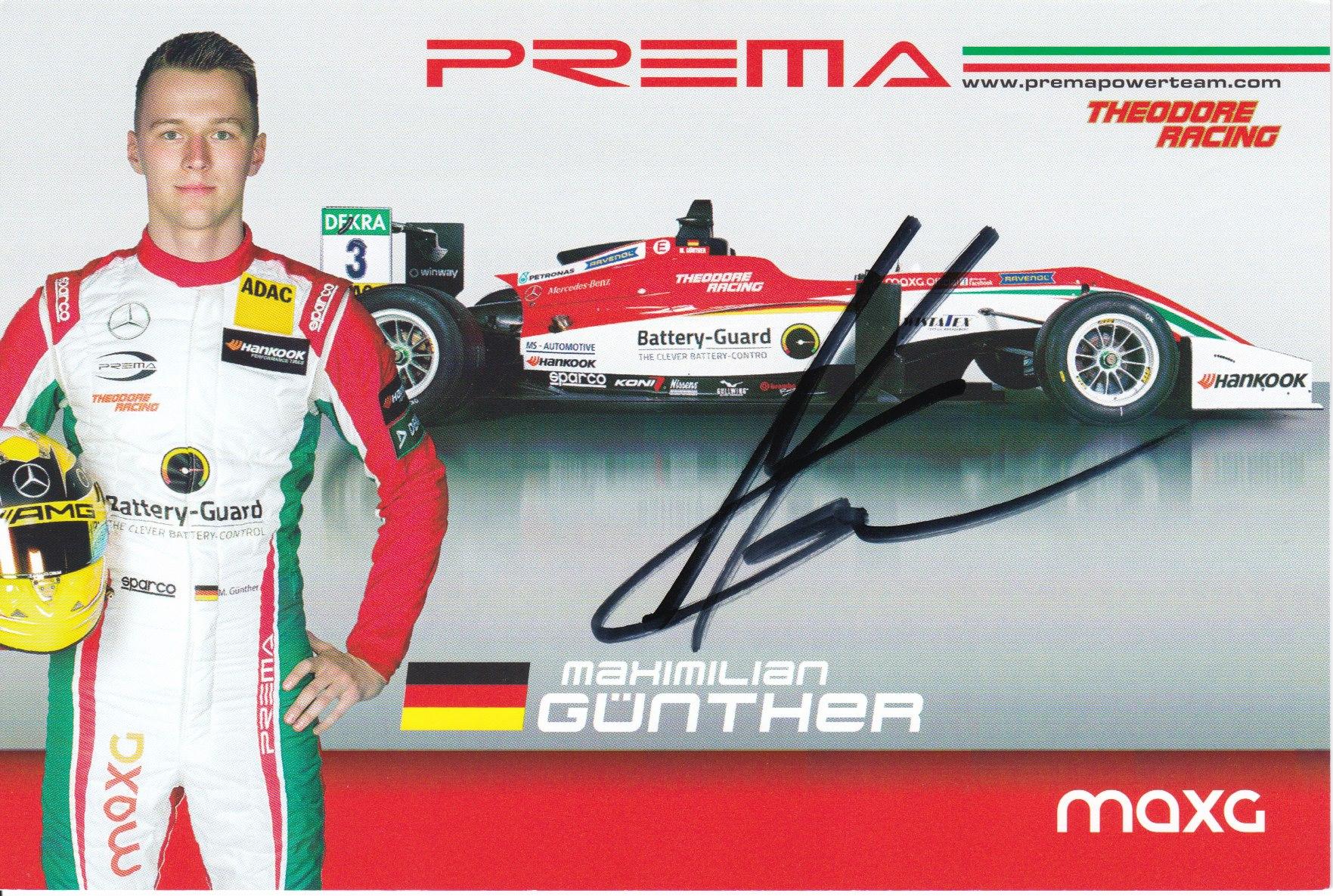 Maximilian Günther Prema Powerteam 2017