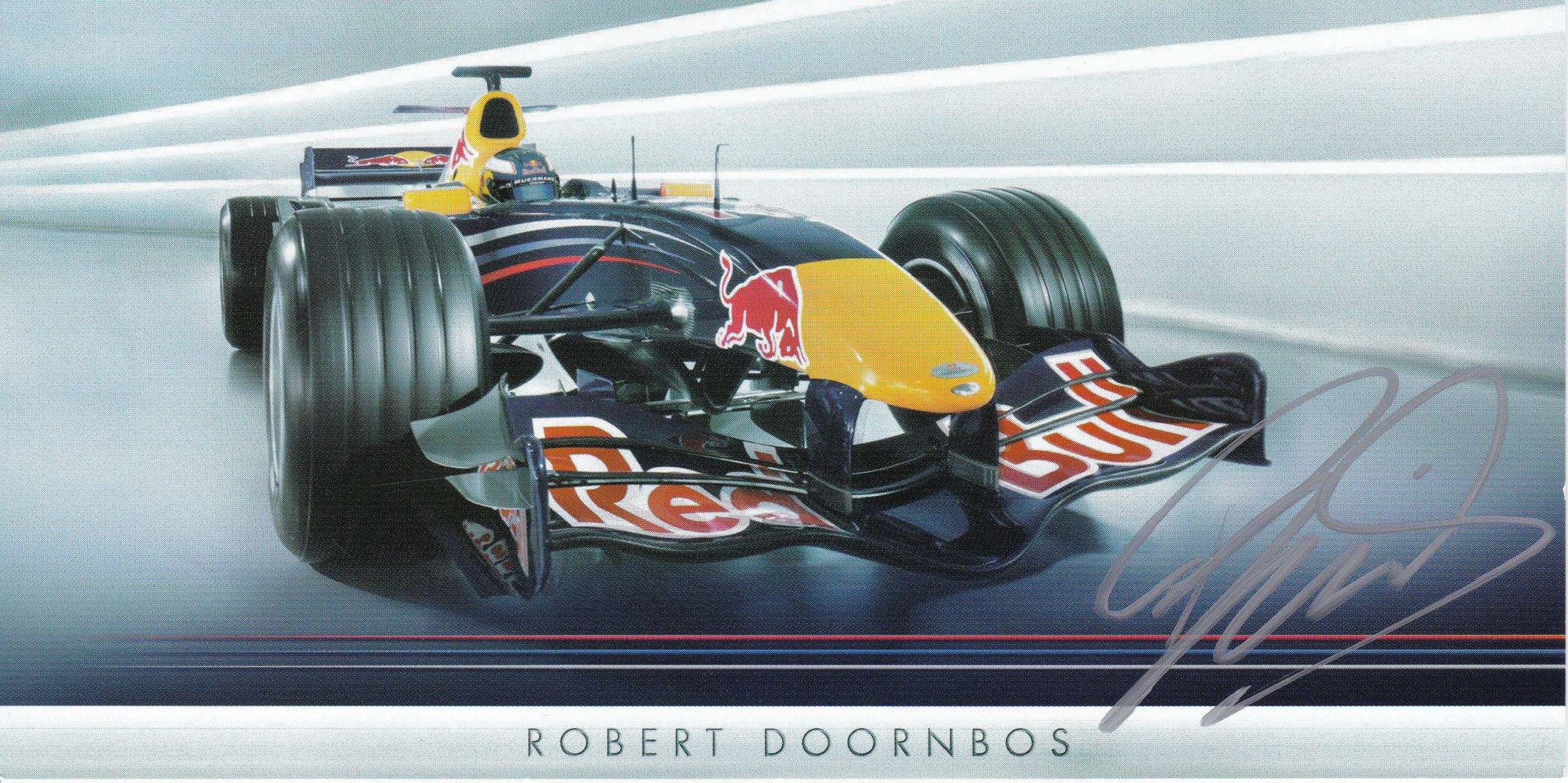 Robert Doornbos Red Bull Racing 2006