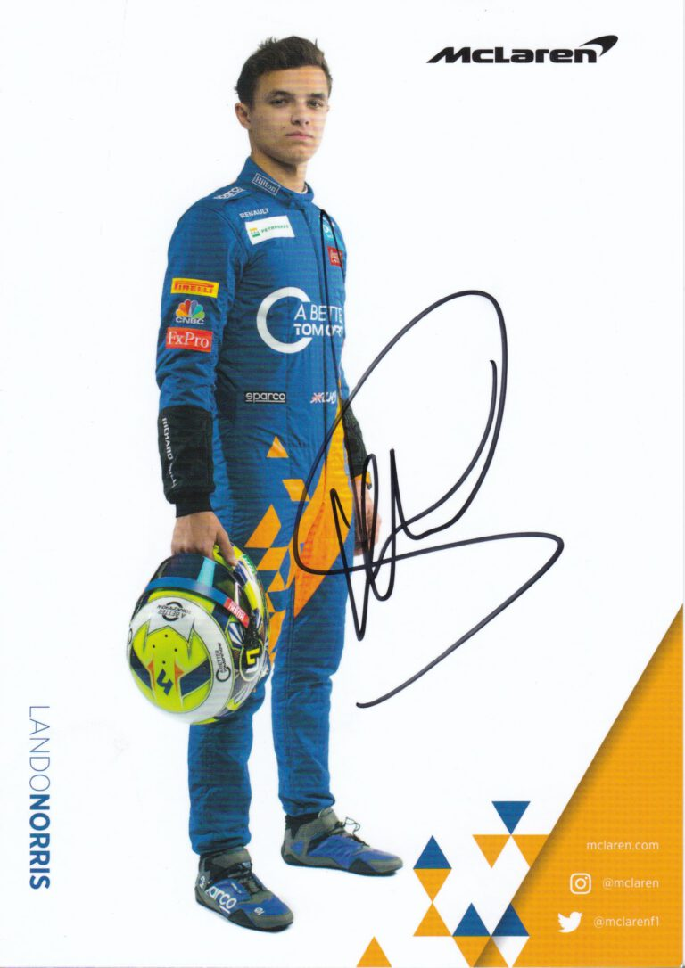 Lando Norris 2019 McLaren