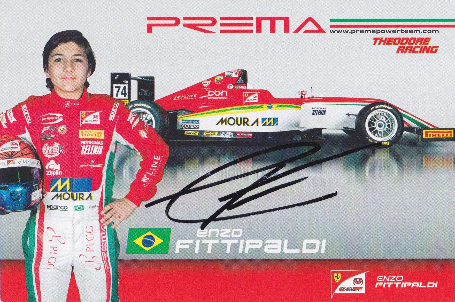 Enzo Fittipaldi Prema Powerteam 2017