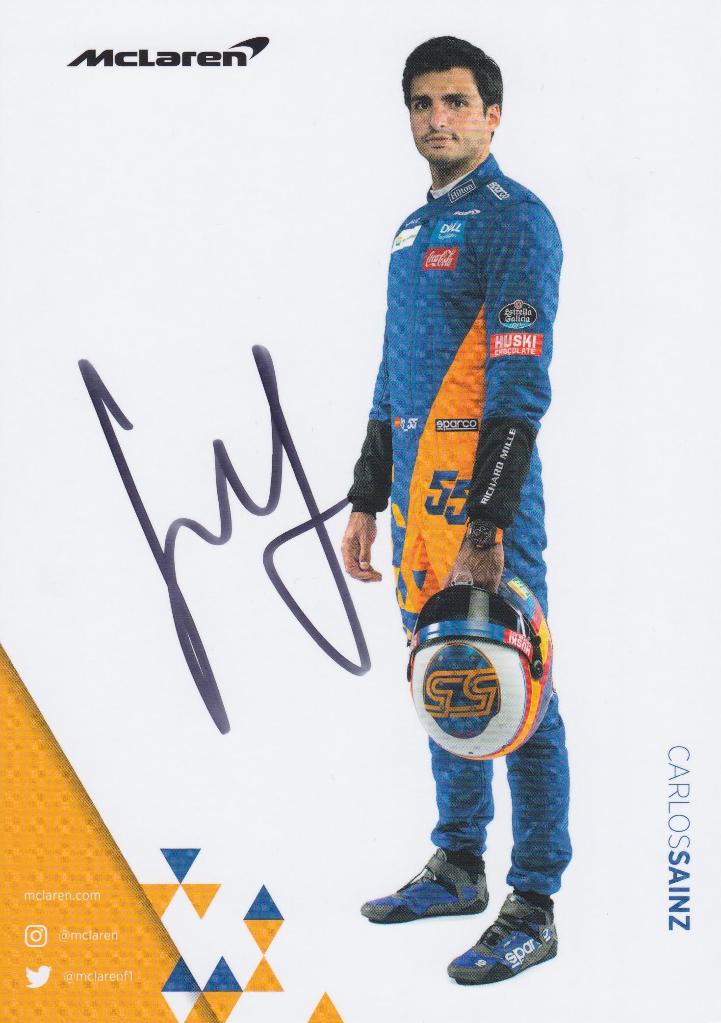 Carlos Sainz Mclaren 2019
