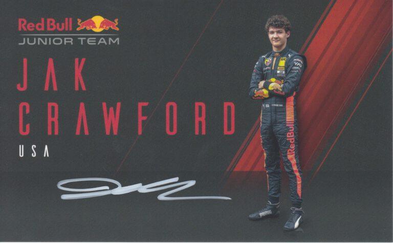 Jak Crawford Red Bull Junior Team 2020