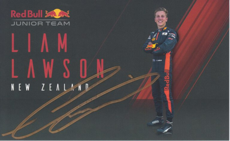 Liam Lawson Red Bull Junior Team 2020