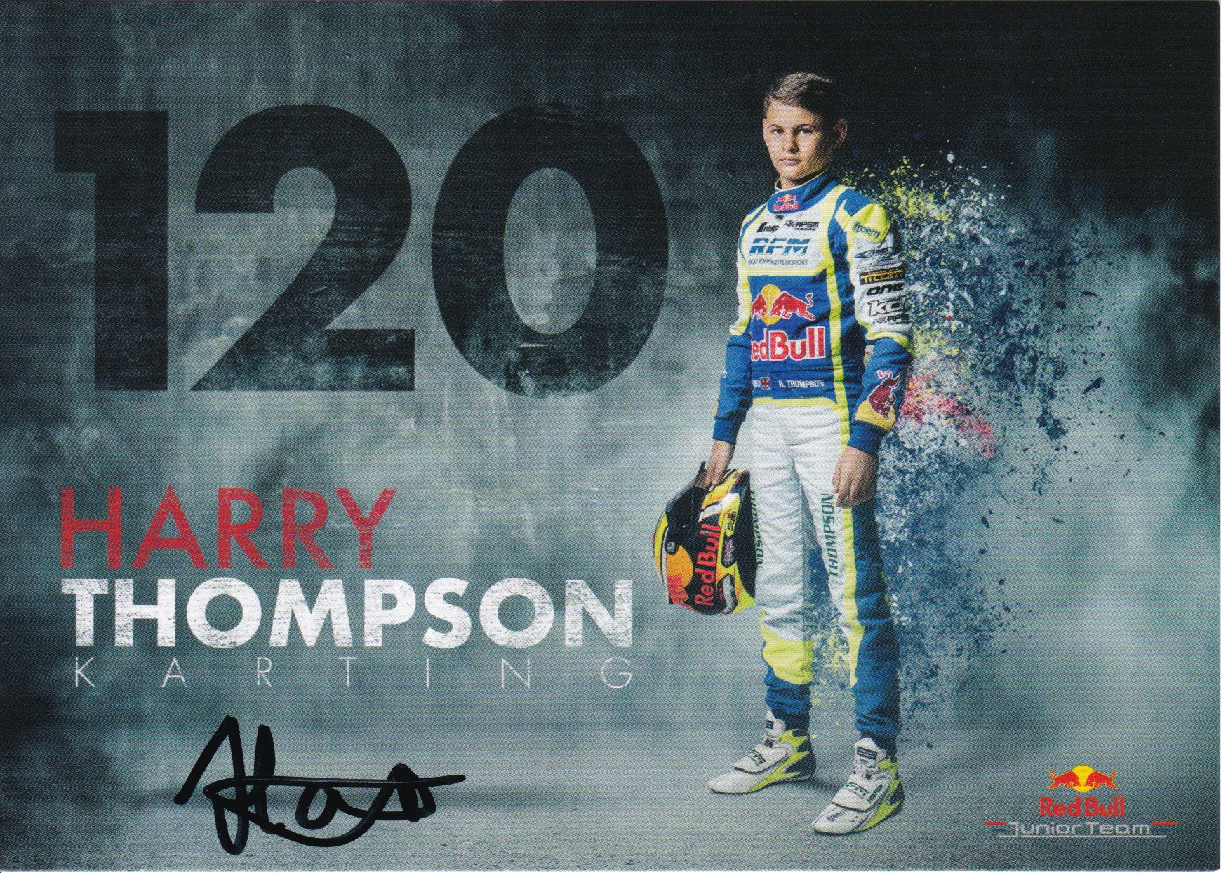 Harry Thomspon Red Bull Junior Team 2018