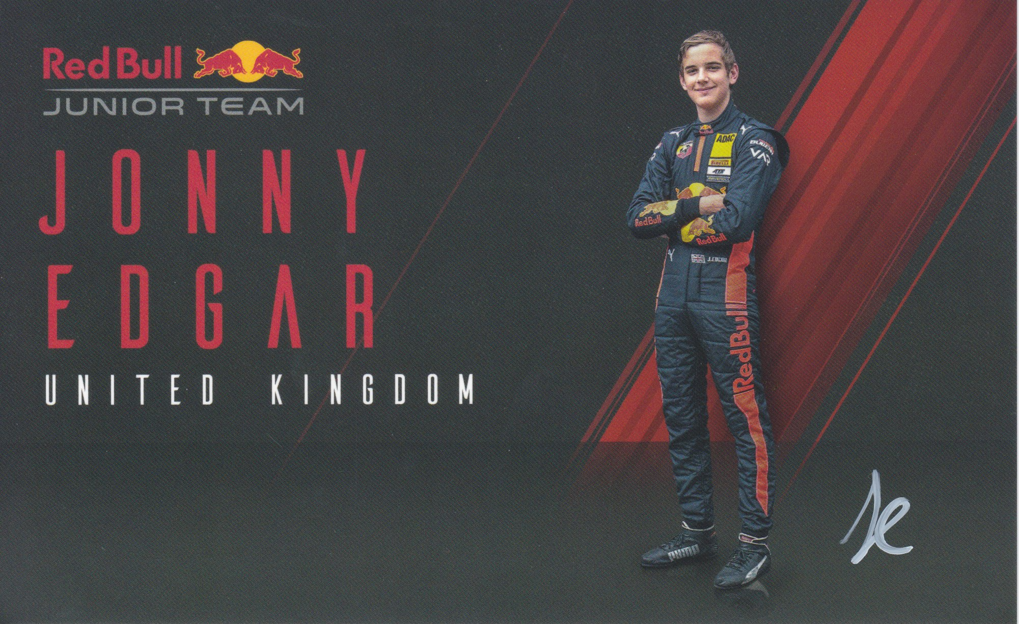Jonny Edgar Red Bull Junior Team 2020