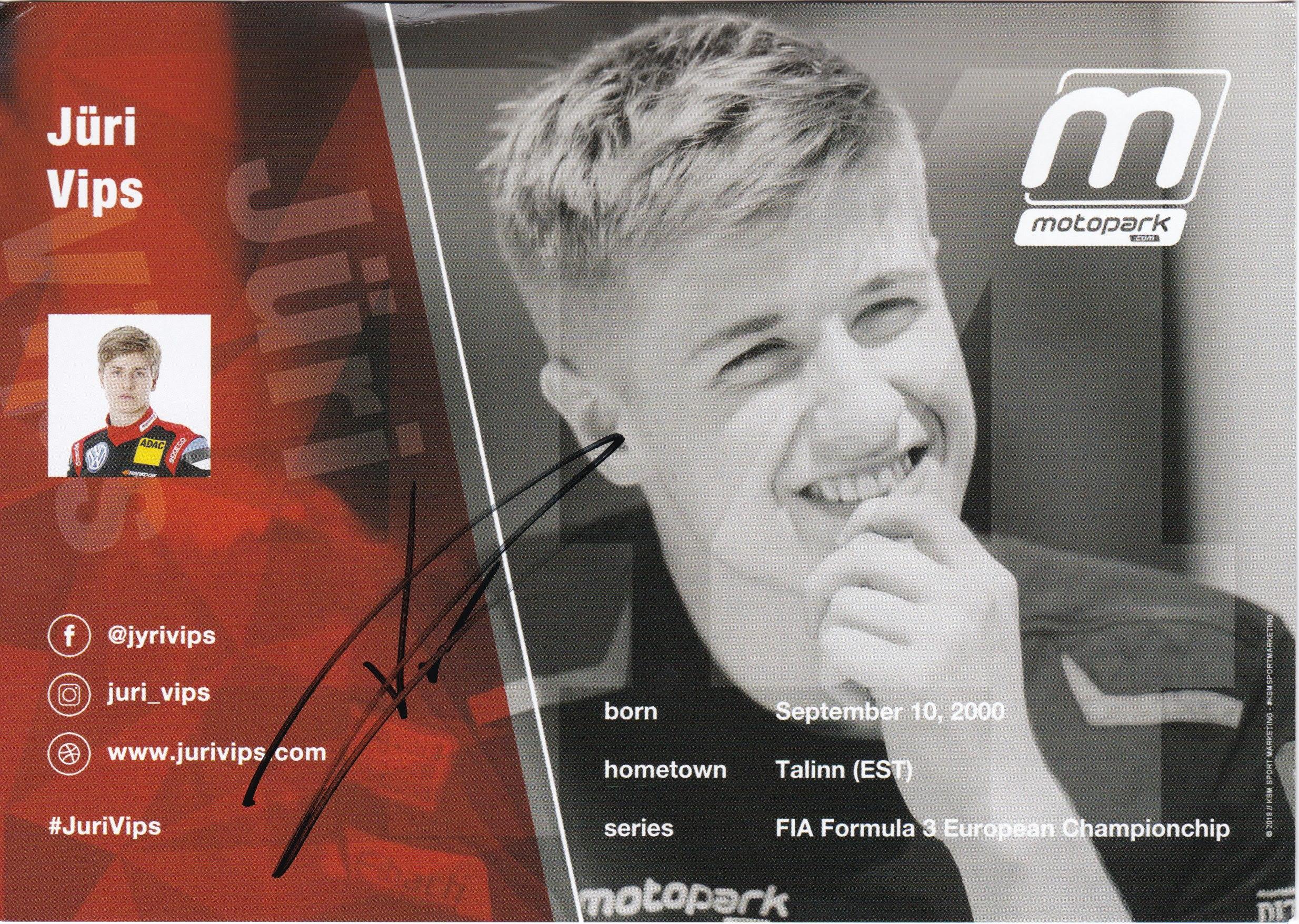 Jüri Vips Motopark 2018