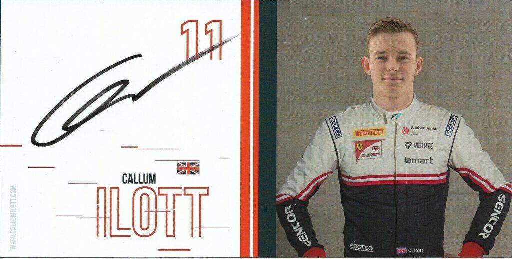 Wanted: Callum Ilott Sauber Junior Team 2019