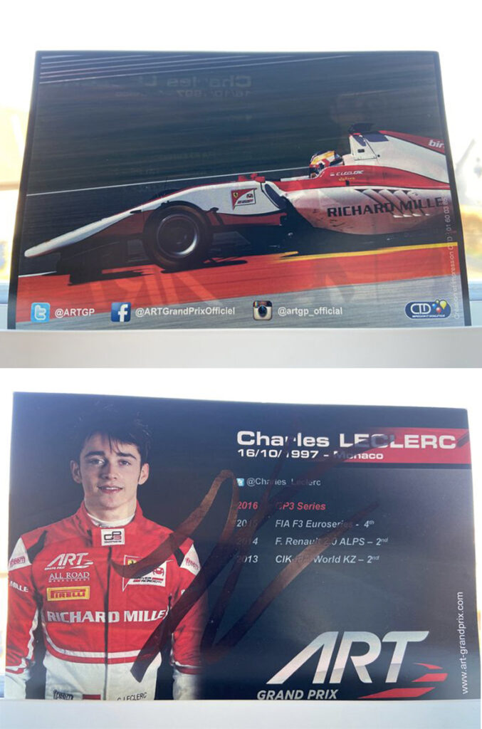 Wanted: Charles Leclerc 2016 ART GP