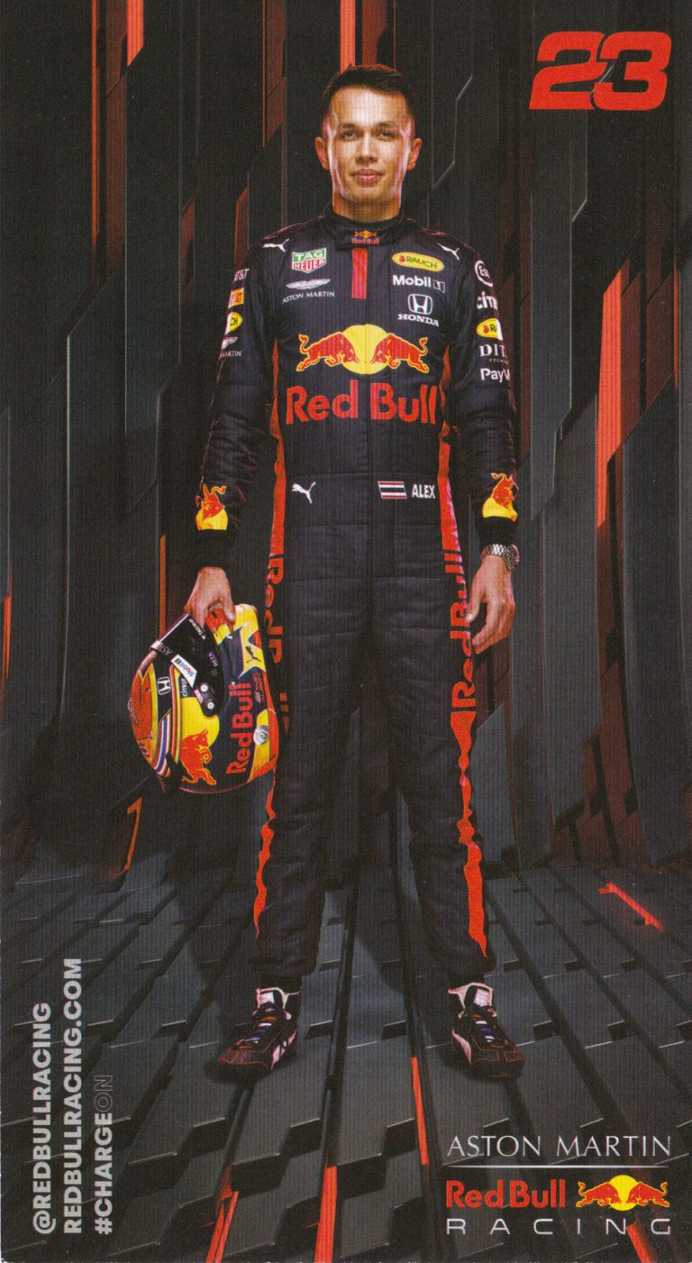 Alexander Albon Red Bull Racing 2020